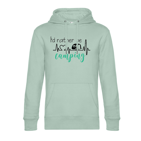 I'd rather be Camping - Camping Hoodie (Unisex)