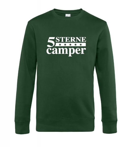 5 Sterne Camper - Camping Sweatshirt / Pullover (Unisex)