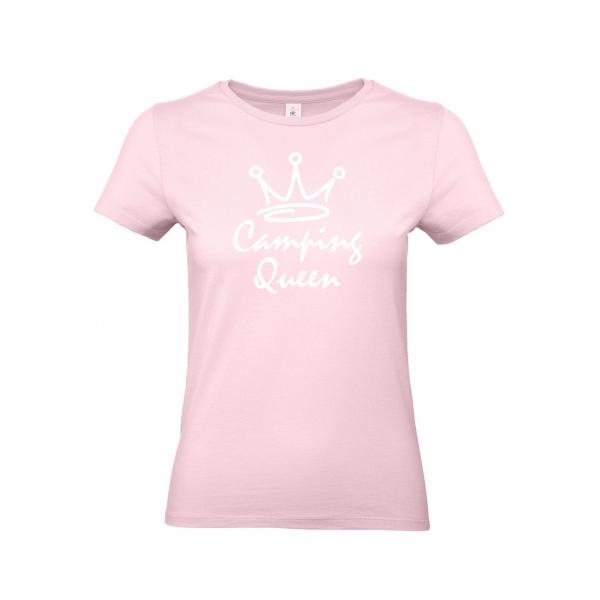 Camping Queen - Camping T-Shirt für Frauen