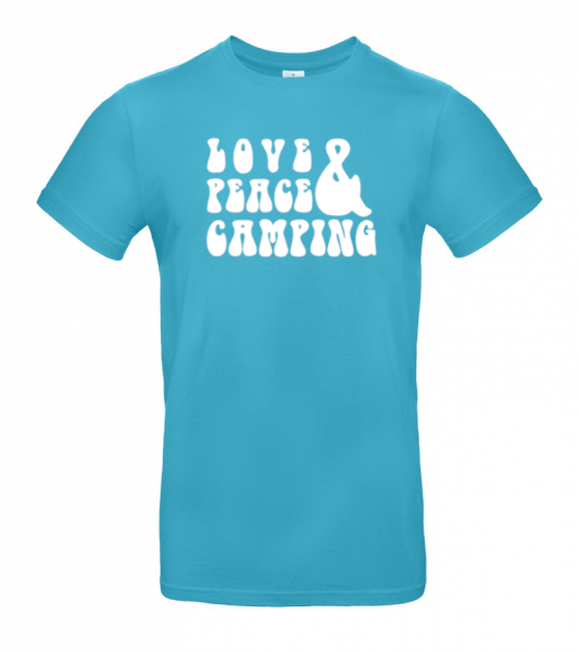 Love Peace Camping - Camping T-Shirt (Unisex)