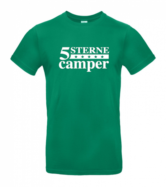 5 Sterne Camper - Camping T-Shirt (Unisex)