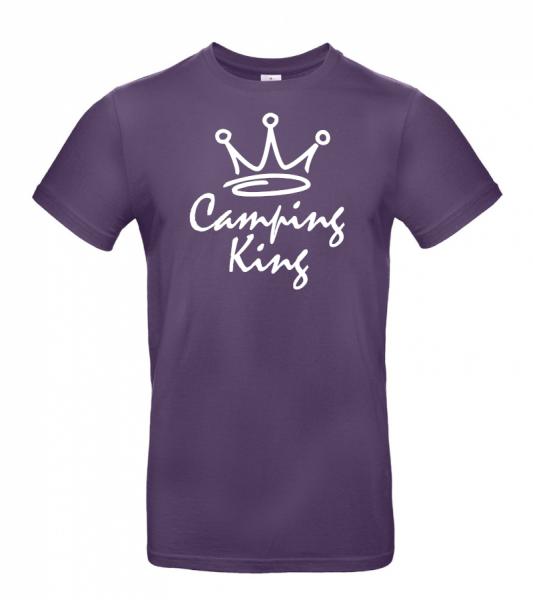 Camping King - Camping T-Shirt (Unisex)