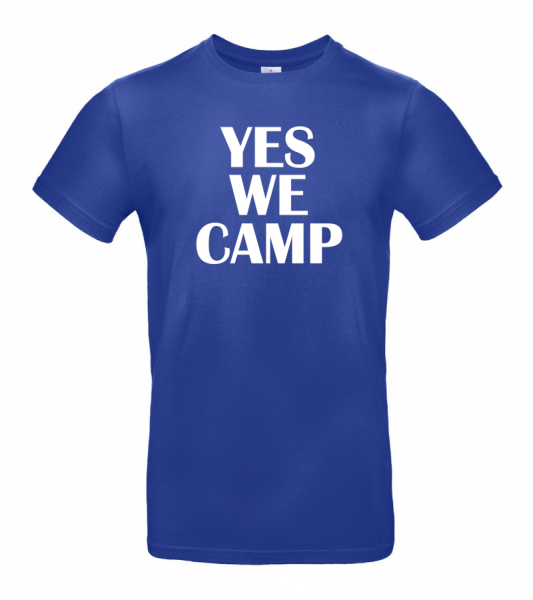 YES WE CAMP - Camping T-Shirt (Unisex)