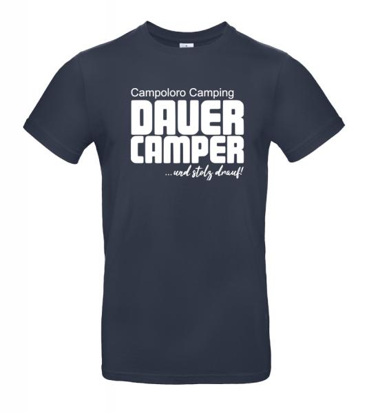 Campoloro Camping - Geschenkidee für Camper (Unisex T-Shirt)