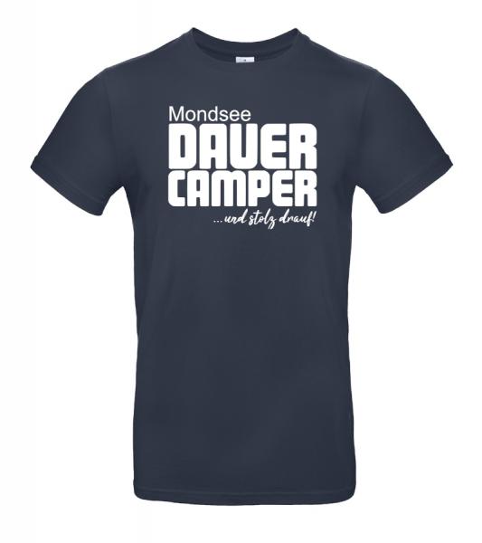 Mondsee Camping - Geschenkidee für Camper (Unisex T-Shirt)