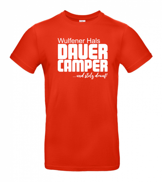 Wulfener Hals Dauercamper - Herren-Camping-T-Shirt