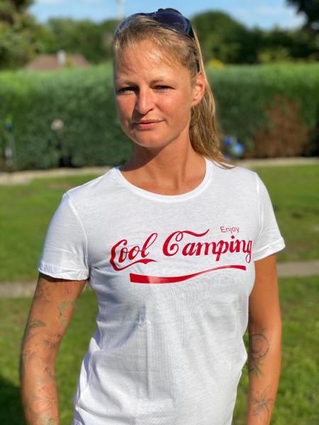 Cool Camping / Damen Camping-T-Shirt