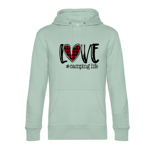 LOVE CAMPING LIFE - Cool Camping Hoodie (Unisex)