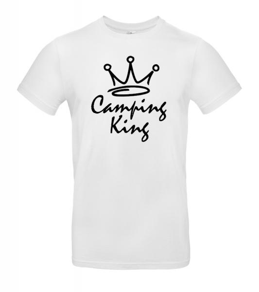 Camping King - Herren Camping T-Shirt XXL