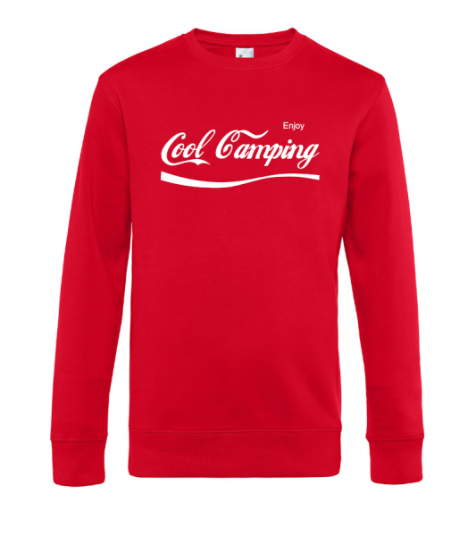 Enjoy Cool Camping - Camping Sweatshirt / Pullover (Unisex)