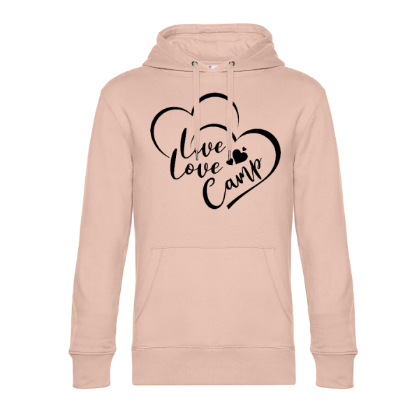 Live Love Camp - Cool Camping Hoodie (Unisex)