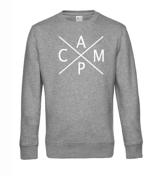 C A M P - Camping Sweatshirt / Pullover (Unisex)
