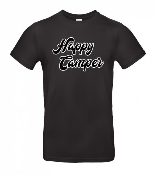Happy Camper - Camping T-Shirt XXL (Unisex)