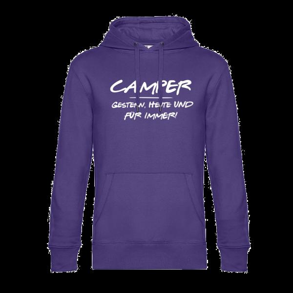 CAMPER - GESTERN, HEUTE UND FÜR IMMER! - Geschenkidee für Camper
