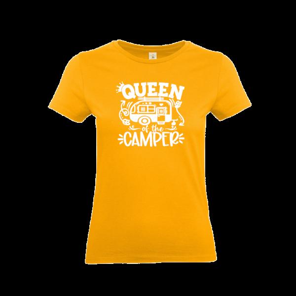 Queen of the Camper - Camping T-Shirt für Frauen