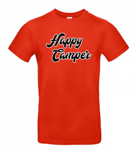 Happy Camper - Camping T-Shirt (Unisex)