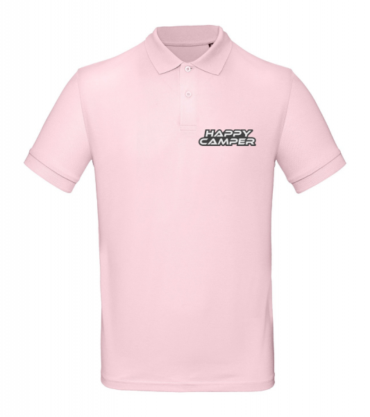 HAPPY CAMPER - Cool Camping Poloshirt (Unisex)